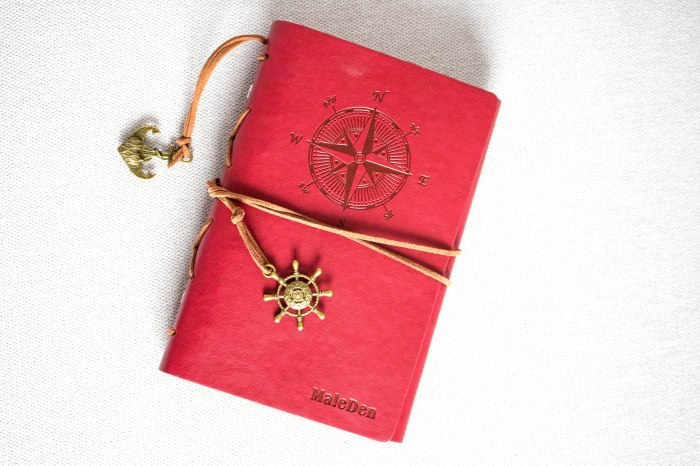 red-notebook-planner