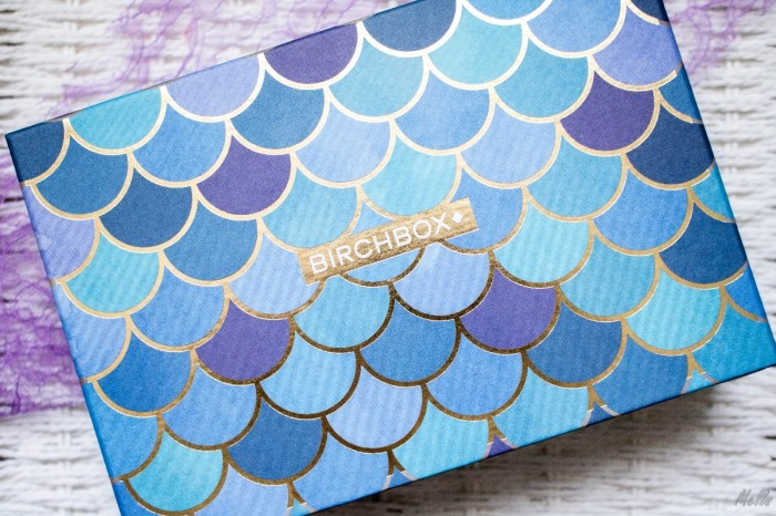 Birchbox UK August 2017 Mermaid