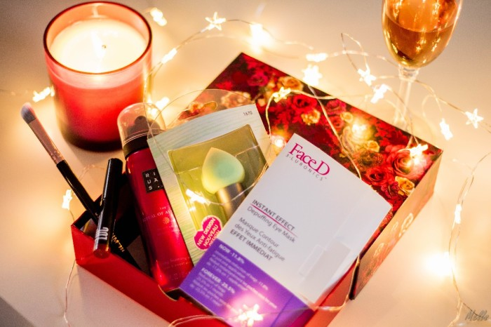 birchbox 2017 december reveal items faceD ecotools rituals LOC cosmetics spectrum collections wine