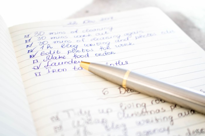 5 tips to find motivation and organise better make a list