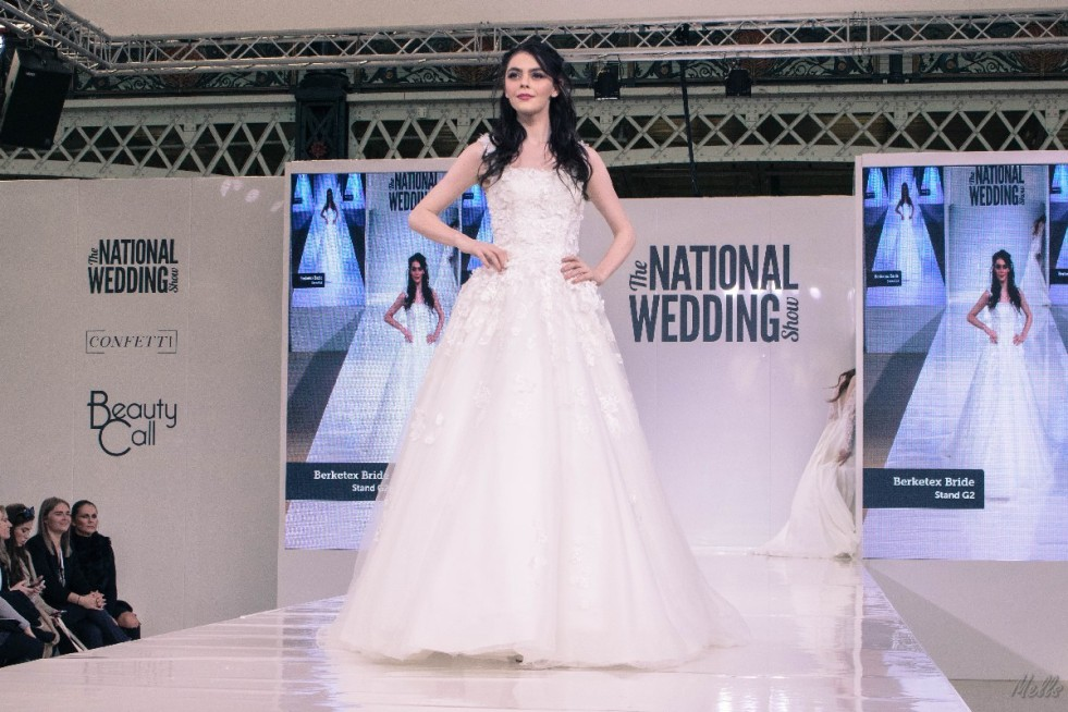 The National Wedding Show London 2018 wedding dress