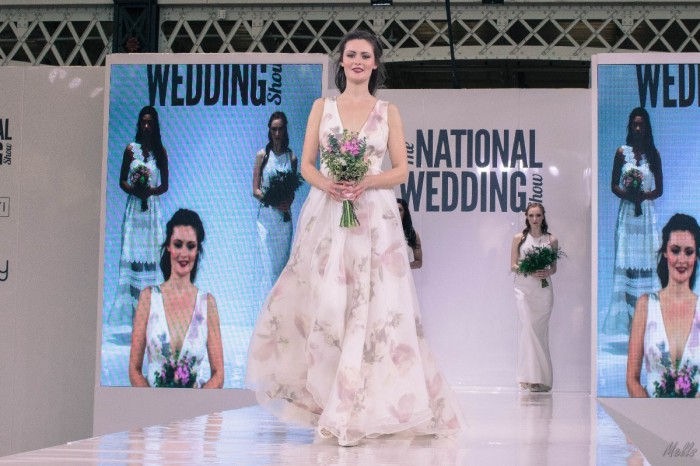 The National Wedding Show London 2018 bridal gown ted baker