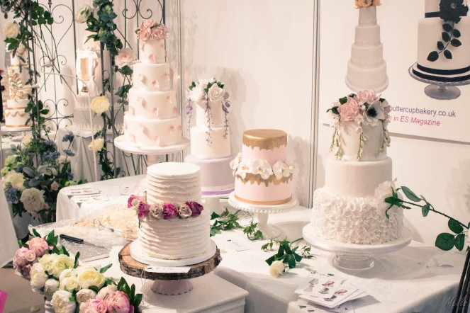 The National Wedding Show London 2018 cake