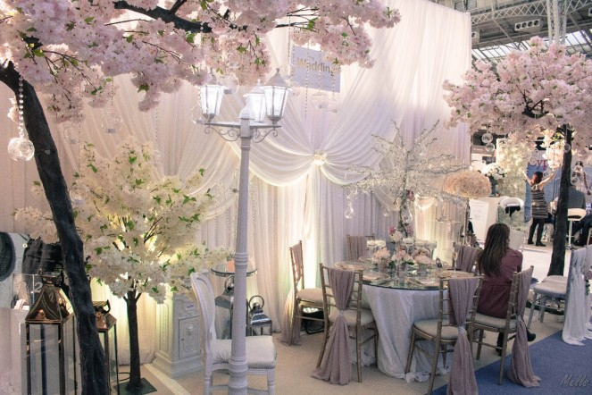 The National Wedding Show London 2018 The wedding lounge decration