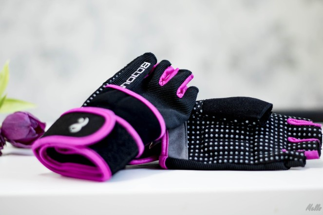Fitness Weight Lifting Glove with Long Wrist Wrap Support april favourites