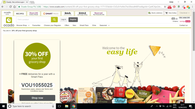 5 tips on saving money grocery shopping online ocado