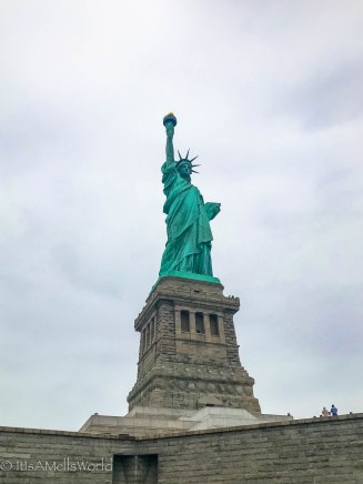 new york travel blog statue of liberty island