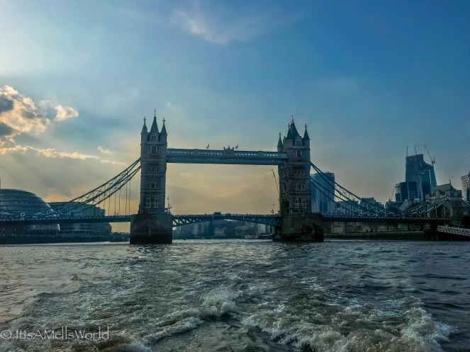 travel blog london walk tower bridge boat
