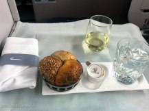 british airways business class meal travel blog