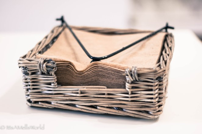 recycled napkins eco friendly sustainable natural basket