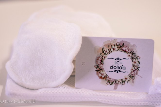 reusable bamboo cotton make up pads sustainable eco friendly
