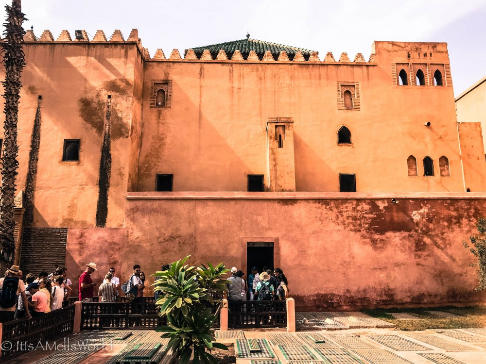 morocco marrakech travel guide tips streets tombs